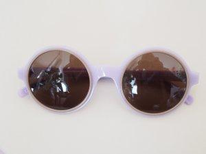 Andy Wolf Eyewear Gafas de sol redondas púrpura