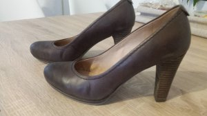 runder Pumps in braun von 5 th Avenue