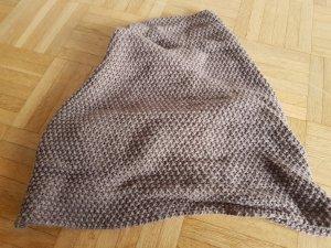 Crochet Scarf grey brown