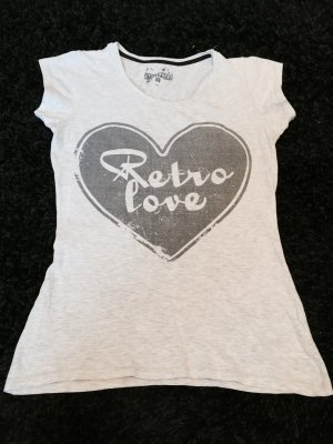 "Rundhals Shirt ""Retro Love"""