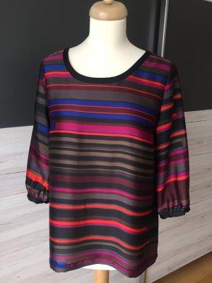 Comma Blouse à enfiler multicolore polyester