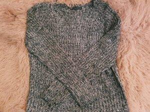 Atmosphere Kraagloze sweater grijs