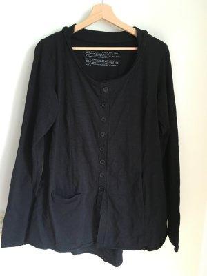 Rundholz Shirt Jacket black cotton