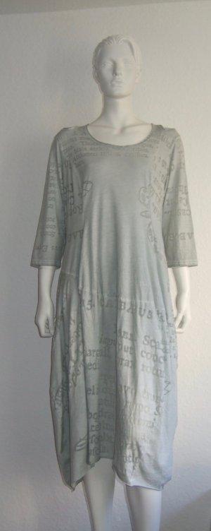 Rundholz Gehrock Kleid Print Cutout Grey Size L New