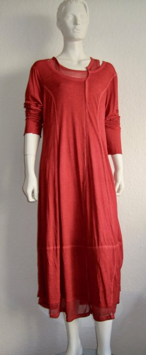 Rundholz Gehrock Kleid Red Size XL
