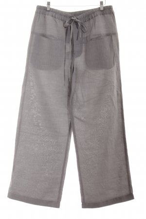Rundholz Palazzo Pants light grey casual look