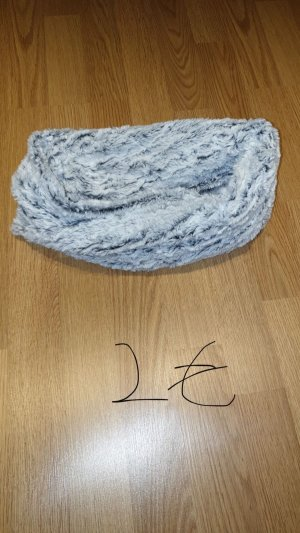 Snood grey-white