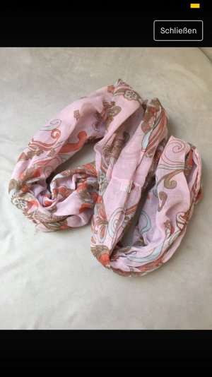 Snood pink-light pink