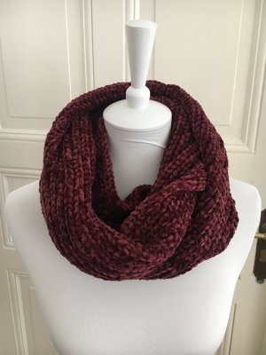 Deichmann Snood purple polyester