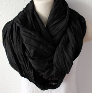 Snood black viscose