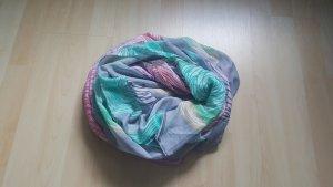 Écharpe ronde multicolore
