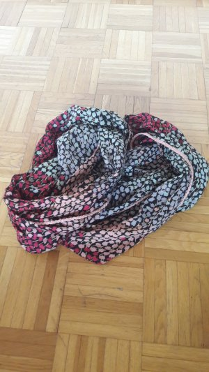 Only Snood rood-turkoois
