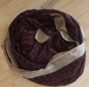 Codello Snood bordeaux polyacrylic