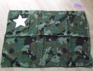 Rundschal von Codello - Camouflage/Khaki - Pailletten-Stern