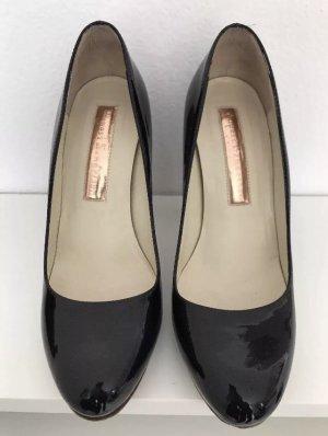RUPERT SANDERSON DENIA Schuhe Pumps Lack Leder 36, 1 mal getragen