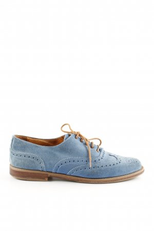 Russel & Bromley Wingtip Shoes blue business style