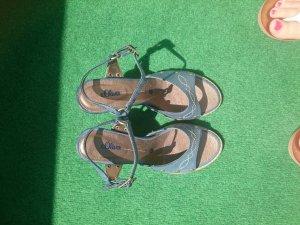 Rustikale Sandalette