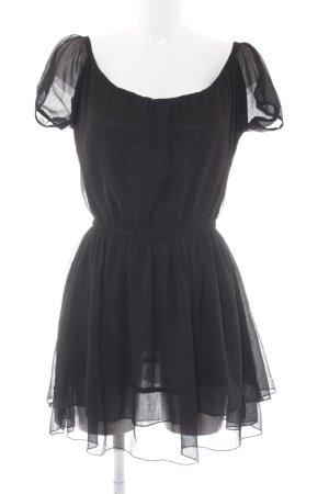 Rut m. fl. A-Linien Kleid schwarz Casual-Look
