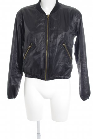 Rut m. fl. Bomber Jacket black casual look