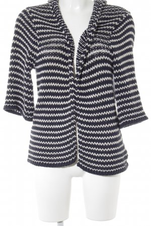 RVCA Cardigan weiß-dunkelblau meliert Casual-Look