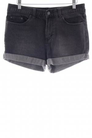 RVCA Jeansshorts dunkelgrau Casual-Look