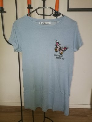 FB Sister Oversized Shirt baby blue