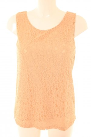 S.Marlon Sleeveless Blouse nude allover print business style