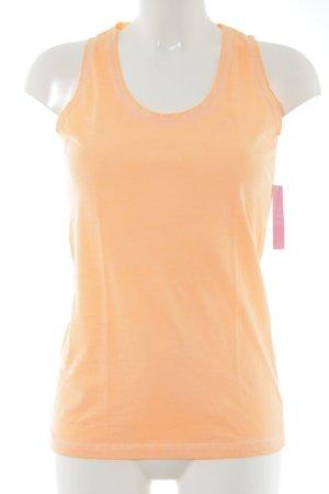 S.Marlon Basic topje licht Oranje casual uitstraling