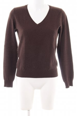 S.Marlon Cashmere Jumper brown casual look