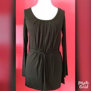 S.Marlon schwarzes Kleid aus locker fallender Viskose neu!