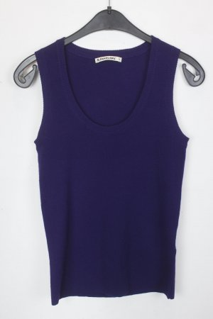 S.Marlon Basic topje lila-bruin-paars Wol