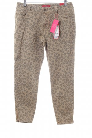 s.Oliver 3/4 Length Trousers allover print casual look