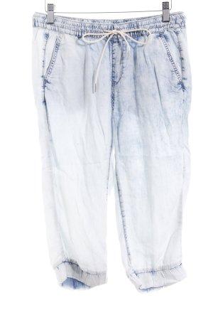 s.Oliver Pantalone a 3/4 azzurro stile casual