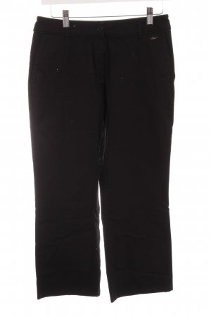 s.Oliver 3/4 Length Trousers black casual look