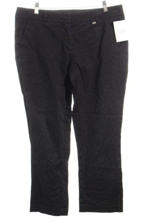 s.Oliver 3/4-broek zwart simpele stijl