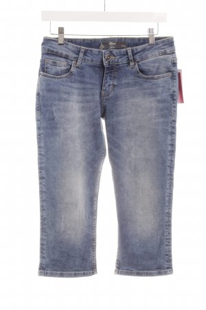 "s.Oliver Jeans a 3/4 ""Catie"" blu acciaio"