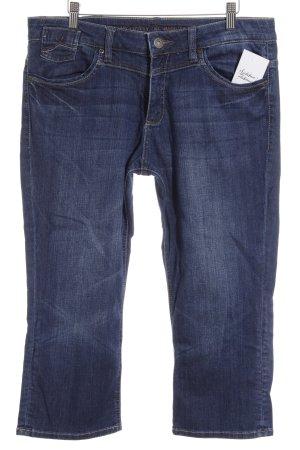 s.Oliver 3/4 Jeans dunkelblau Jeans-Optik
