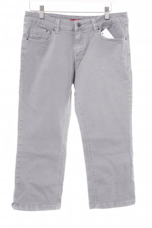 s.Oliver 3/4 Jeans hellgrau Casual-Look