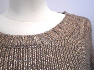 s.Oliver  38: Strickpulli mit Foil Print * Metallic-Effekt * Wolle * TOP!