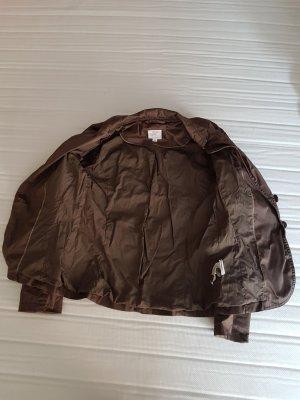 s.Oliver Unisex Blazer grey brown cotton