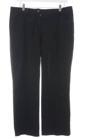 s.Oliver 7/8-broek zwart elegant