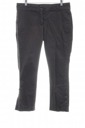 s.Oliver 7/8-Hose schwarzbraun Casual-Look