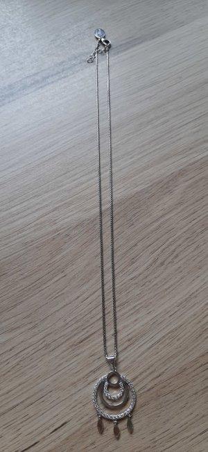 s.Oliver Zilveren ketting zilver-wit Zilver