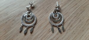 s.Oliver Silver Earrings silver-colored-white real silver
