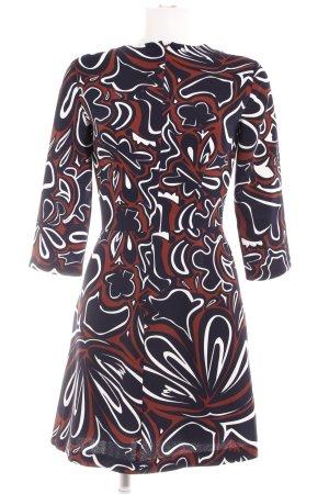 s.Oliver A-Linien Kleid abstraktes Muster Romantik-Look