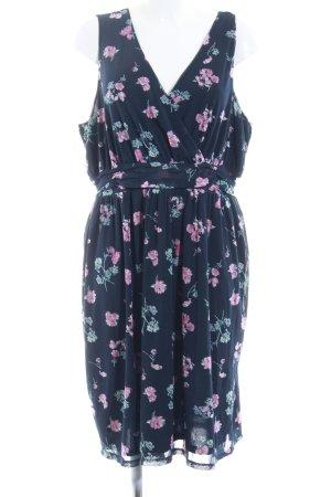 s.Oliver A-Linien Kleid Blumenmuster Casual-Look
