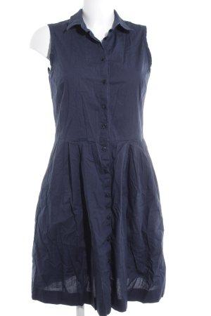 s.Oliver A-Linien Kleid dunkelblau Casual-Look