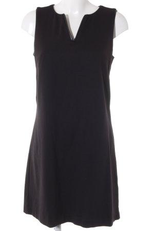 s.Oliver A-Linien Kleid schwarz Business-Look
