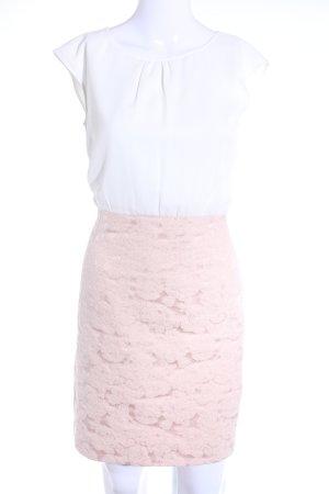 s.Oliver Abendkleid weiß-altrosa Elegant