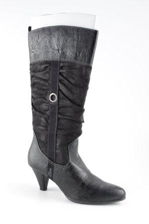 s.Oliver Absatz Stiefel schwarz Elegant